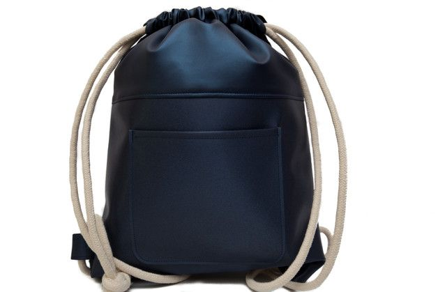 05a19ae7c981 Cute   stylish drawstring backpack. Made from top Italian fabrics and thick  and soft cotton rope. Elegant and comfortable. It can be use as a gym bag