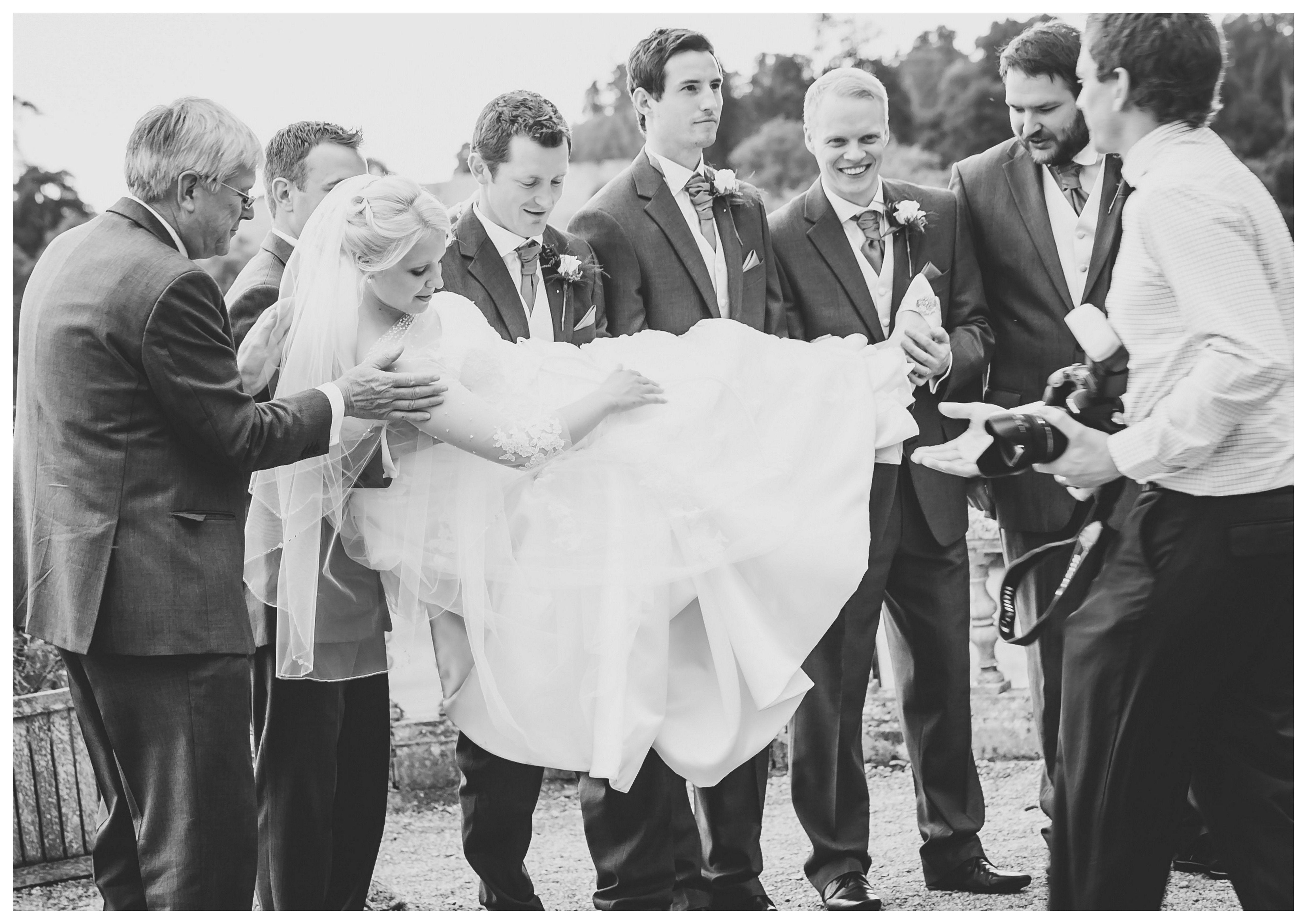#bride #groomsmen #wedding #photo