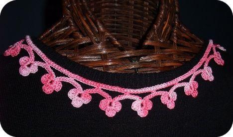 Gothic Choker Crochet Patterns Accesorio Crochet Collar