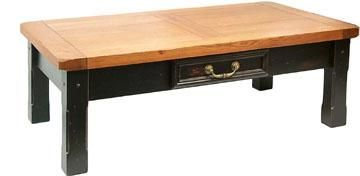 Country Marketplace - Solid Oak Tuscany Coffee Table with Drawer, Rugged planked oak #coffeetable(http://www.countrymarketplaces.com/products/Solid-Oak-Tuscany-Coffee-Table-with-Drawer.html)