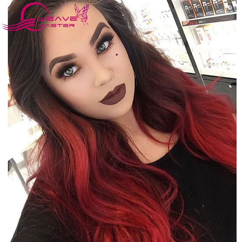 Burgundy Brazilian Hair 3 Pcs Burgundy Hair Weave Bundles Red Wine