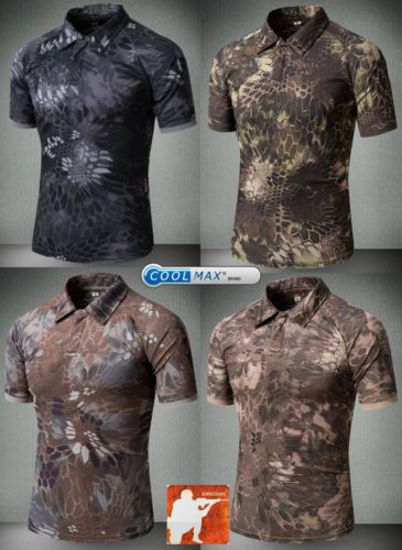 TYPHON-Urban-Tactical-Polo-Shirt-Coolmax-Quick-Dry-T-shirt -Kryptek-SWAT-Airsoft 2b3d4d0407a