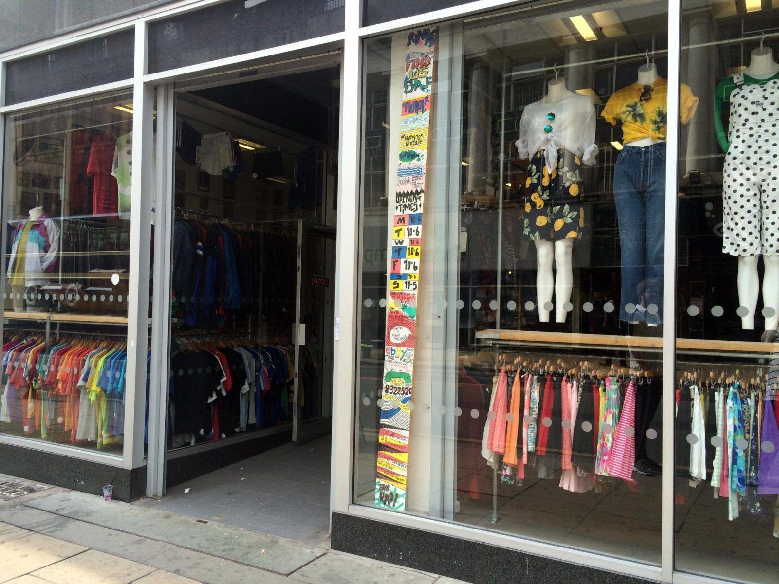 4 Vintage Shops To Visit In Manchester S Northern Quarter Vintage Clothes Shop Vintage Shops Shopping