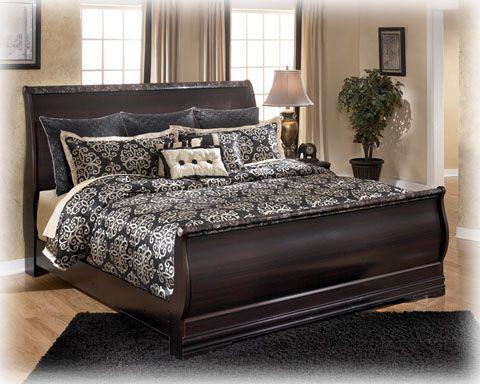 ashley furniture esmarelda queen sleigh