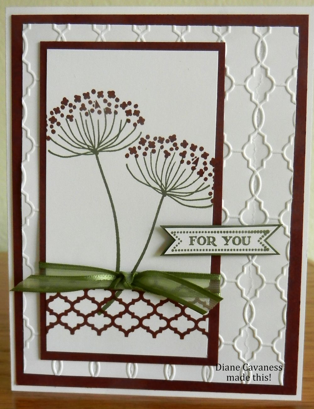 Stampin Up Summer Silhouettes