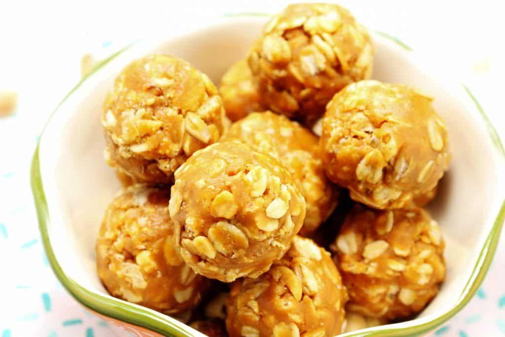 Crispy peanut butter balls healthy hacks peanut butter