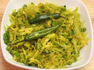 Cabbage with peas bund gobi and mater manjulas kitchen indian cabbage with peas bund gobi and mater manjulas kitchen indian vegetarian recipes forumfinder Image collections