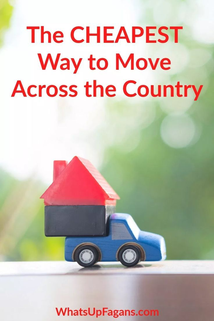 What Moving Across the Country Will Actually Cost You