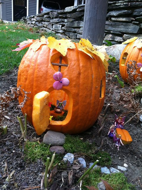 Fairy House Pumpkin | Flickr - Photo Sharing!