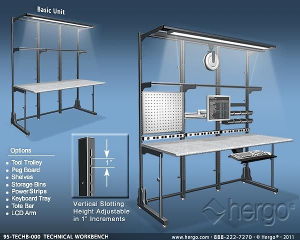 Work Space For Systems Ergonomic Office Furniture Workbench Furniture