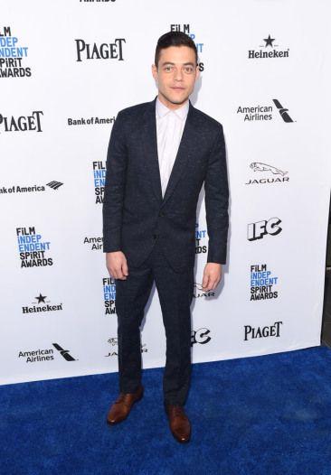 Rami Maleck in Jimmy Choo Penn shoes.