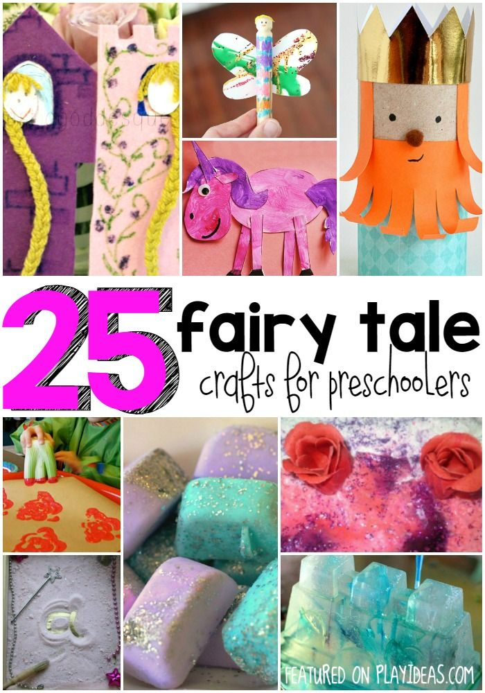 25 fairy tale crafts for preschoolers kids activity. Black Bedroom Furniture Sets. Home Design Ideas