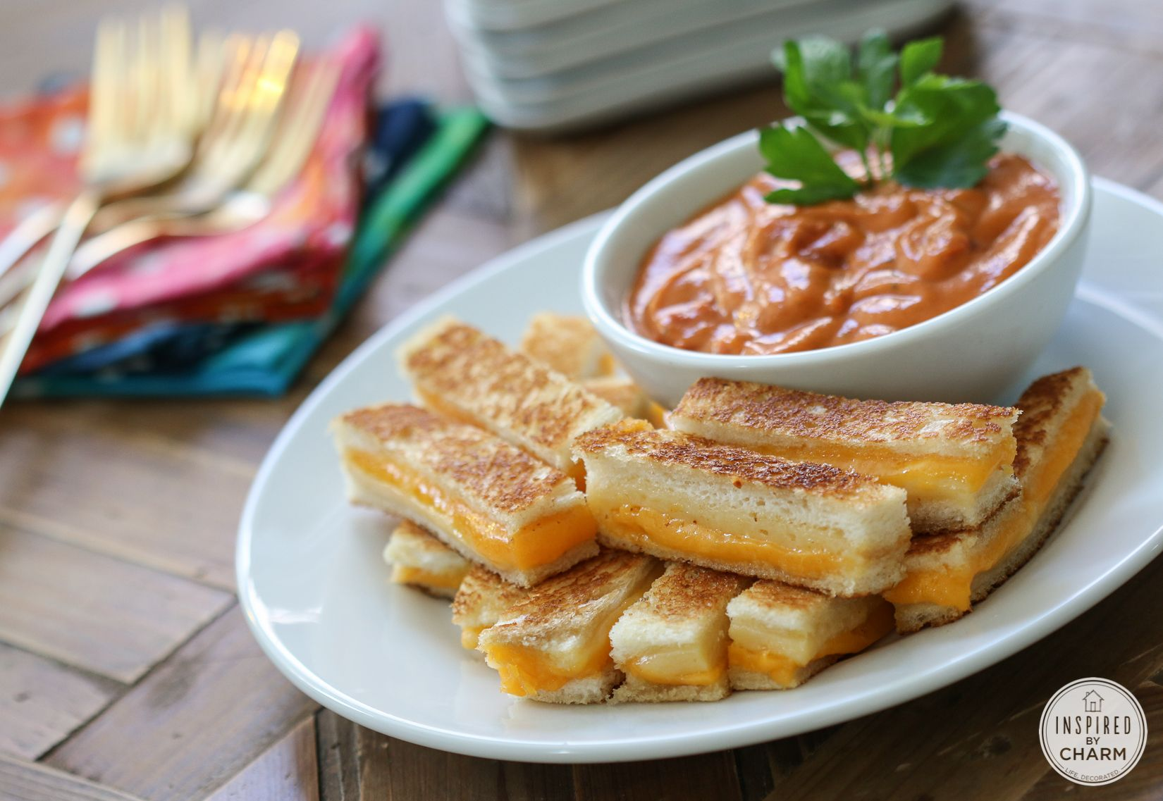 Photo of Mini Grilled Cheese Sandwiches