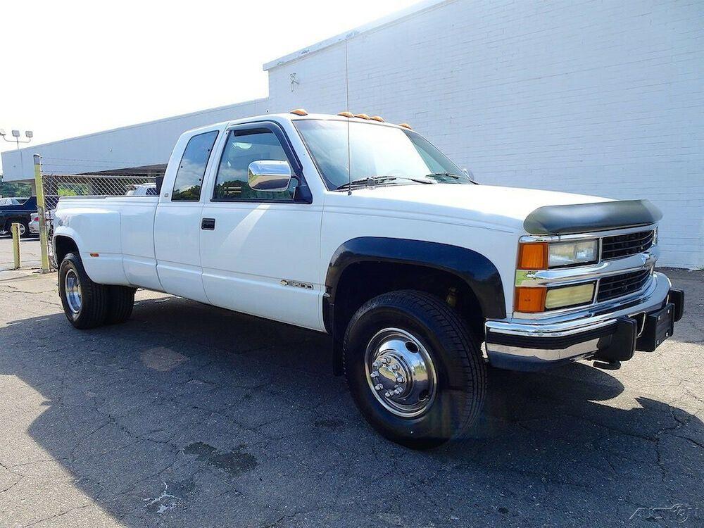 1993 Chevrolet C K Pickup 3500 4x4 8 Ft Box Cheyenne Fleetside Chevrolet Chevrolet Silverado Silverado 3500