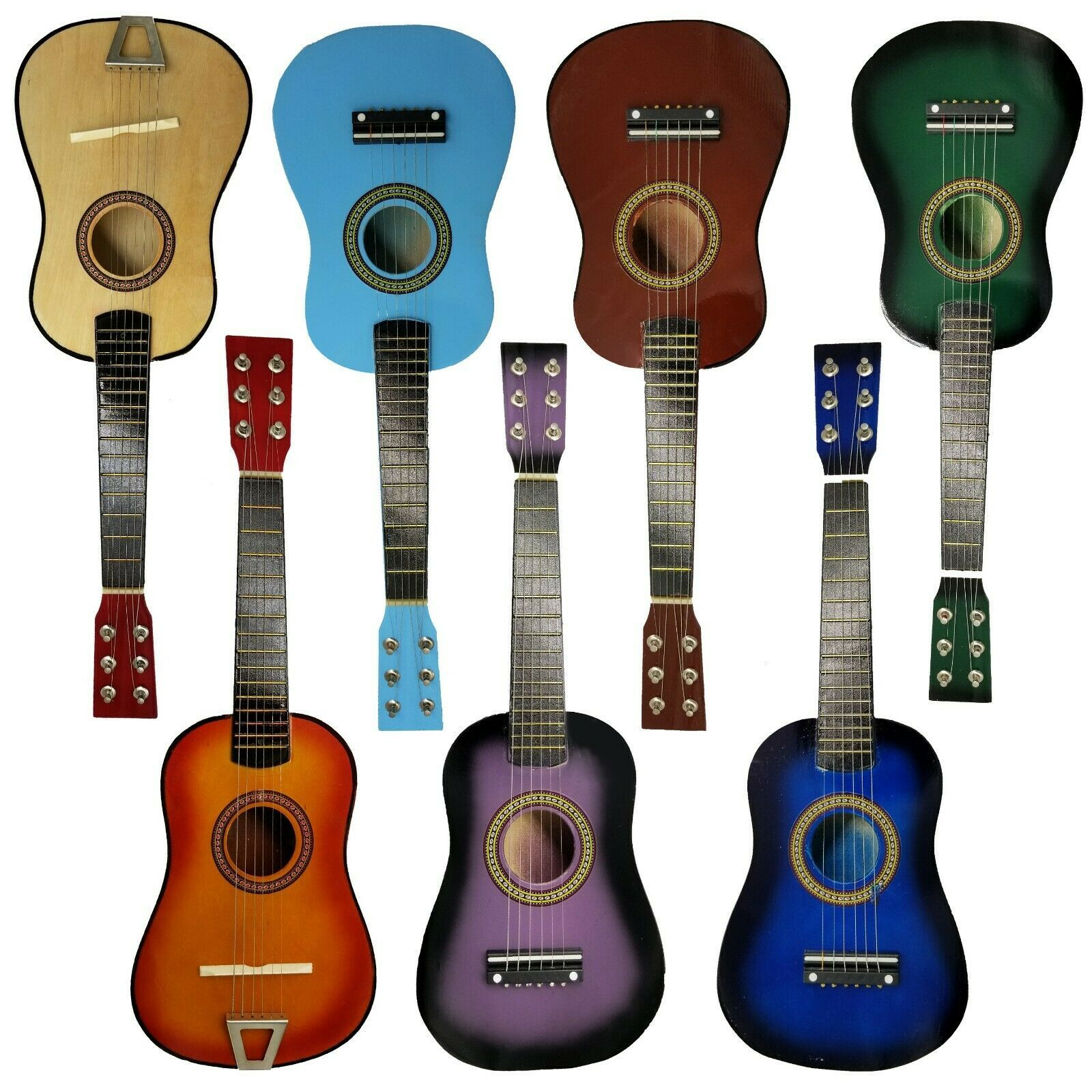 Kids Toy Guitar Children Acoustic Prop Musical String Practice Great Gift