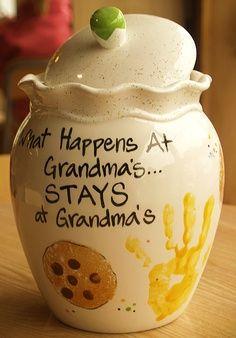 Grandma S Cookie Jar Grandma Cookie Jar Grandparents Day Gifts Grandma Gifts