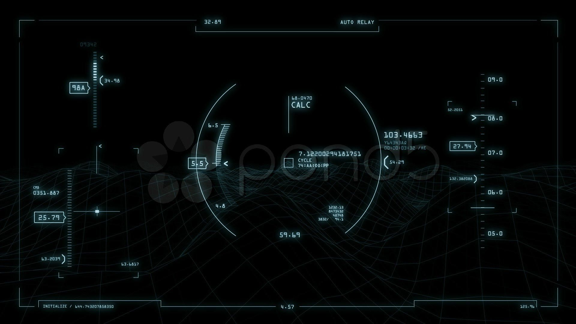 Animated 3d wallpaper jarvis interface - Animation Futuristic Interface Animation With 3d