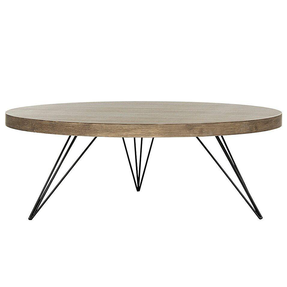 Safavieh Mansel Round Coffee Table In Light Grey Round Wood Coffee Table Coffee Table Coffee Table Wood [ 956 x 956 Pixel ]