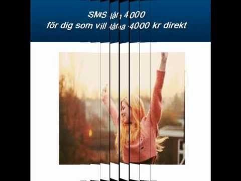 Sms-lån 4000 kr