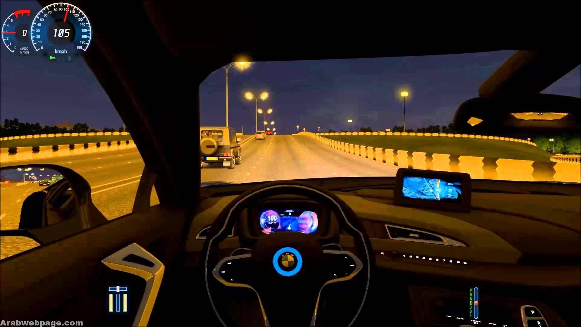تحميل لعبة قيادة السيارات الحقيقية من الداخل للكمبيوتر Car
