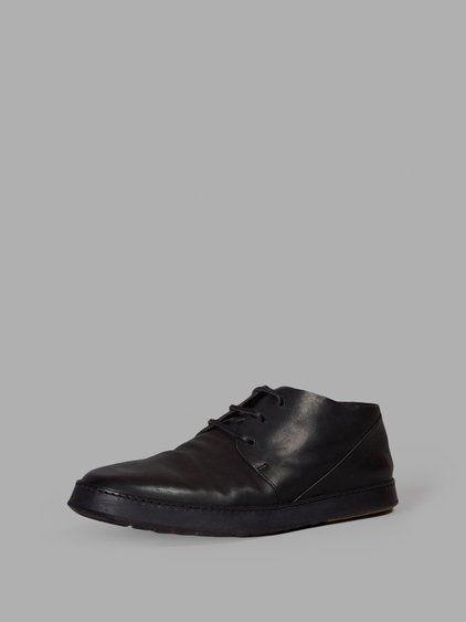 MARSÈLL MARSÈLL MEN'S BLACK LACE-UPS. #marsèll #shoes #lace-ups