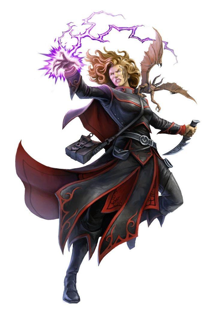 dd cleric Evil female