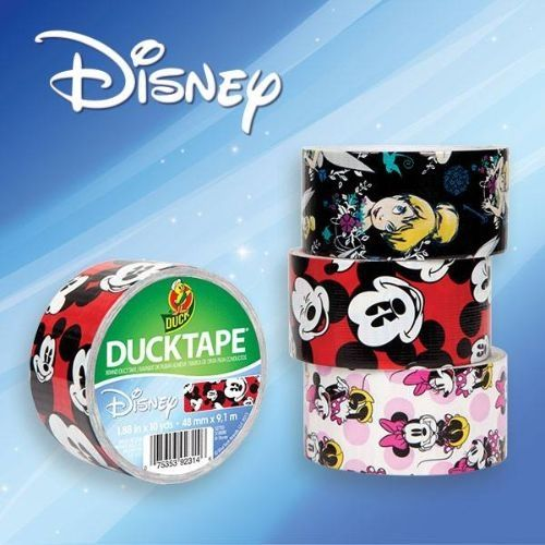 Disney Duct Tape - oh, the cute Disney crafts we could make! #disneyside (omgosh I MUST get this)