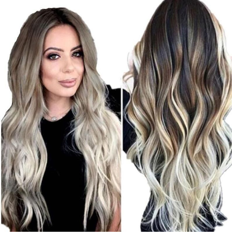 Loose Big Wave Wig, Curly Wig, Wig For White Women