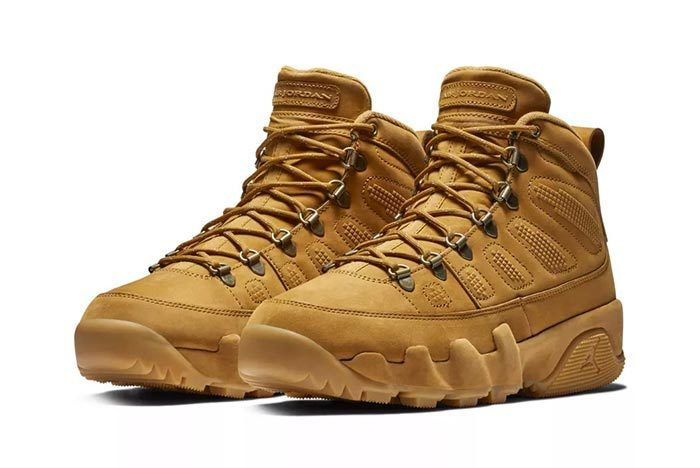 cb48c10535e The Air Jordan 9 NRG Boot 'Wheat' Has a New Release Date | Jordans ...