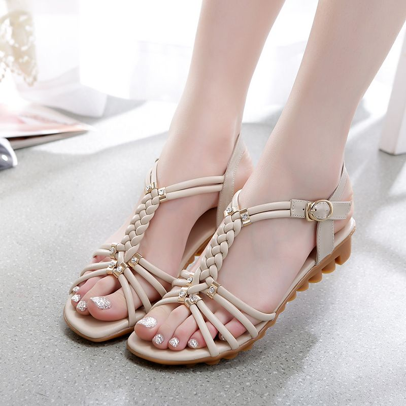 Toe-Sandals womens summer hot-fashin flats sandals shoes boots straps lady/'s