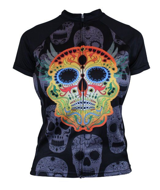 Dia De Los Muertos (Day of the Dead) Women s Cycling Jersey  a30183d4f