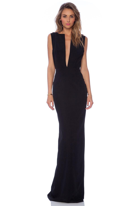 SOLACE London Linder maxi Dress en Negro | REVOLVE | Ropa | Pinterest