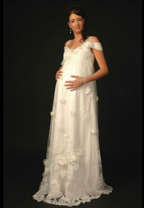 A pregnant bride can find all types of maternity wedding dresses in ...