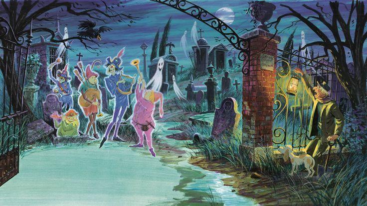Image Result For Haunted Mansion Desktop Wallpaper Disney Images Disney Concept Art Disney Haunted Mansion