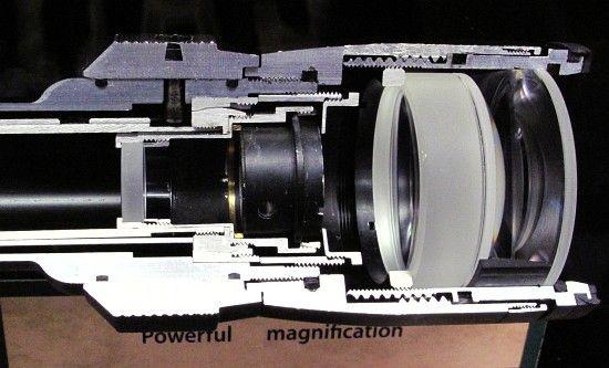 Inside Look Cutaway Weaver Scope Reveals Complex Internals Daily Bulletin Scope Complex Systems Complex