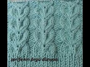 Sequence Fish Sample - Knitting Examples #womenvest