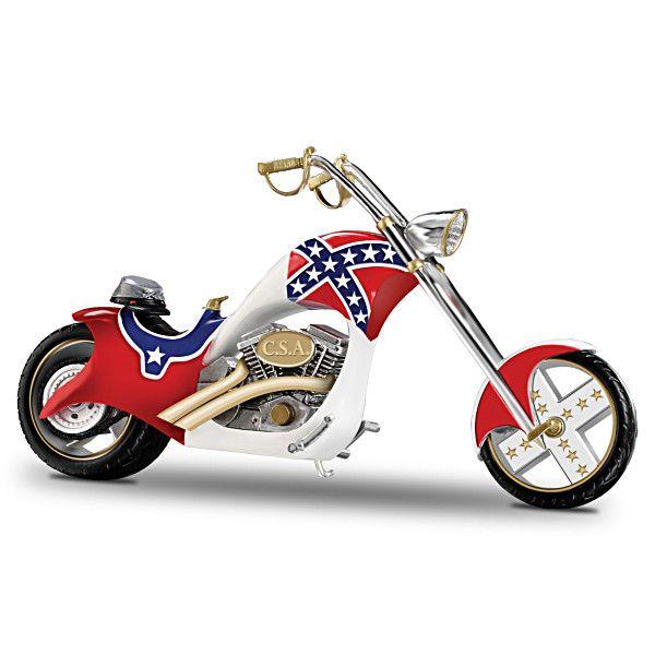 Renegade Run Figurine Motorcycle Figurine Bike Chopper