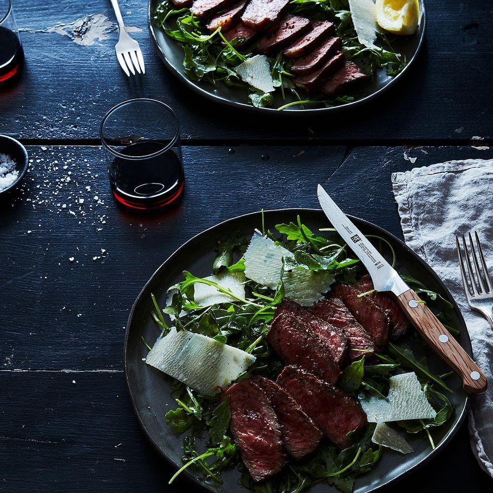 Steak with Arugula, Lemon and Parmesan Recipe on Food52 recipe on Food52