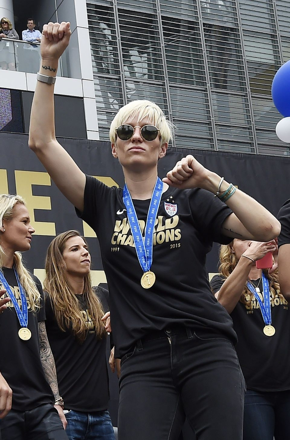 Megan Rapinoe's Style Scores Big Time, On And Off The
