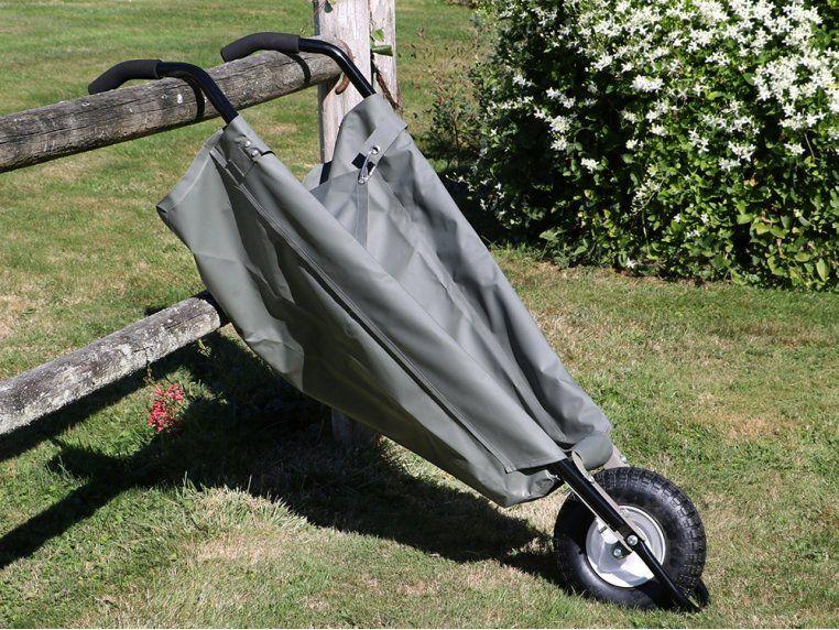 Allsop Garden Wheeleasy Foldable Canvas Wheelbarrow Wheelbarrow Canvas How To Level Ground