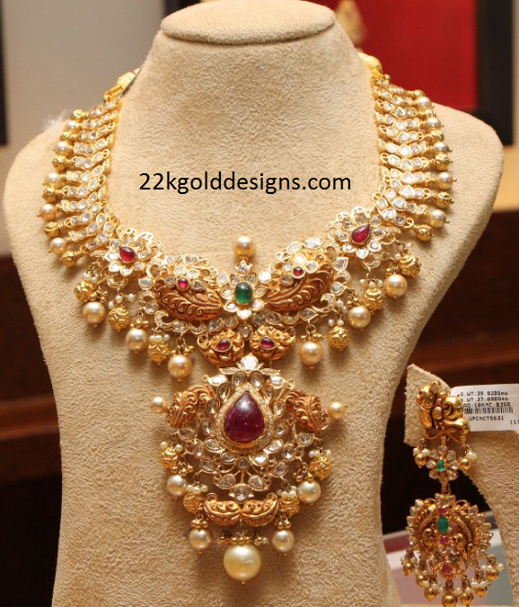 Latest Indian Gold Jewellery Sets Designs For Bridal 2016: PMJ Jewels - Google Search