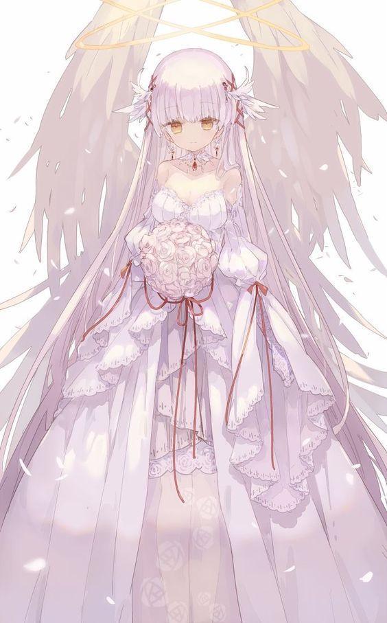 Photo of Xả Ảnh Anime Đẹp, Hiếm . – Xả Ảnh Anime Váy Trắng