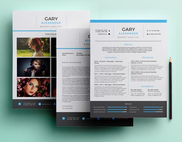 Creative Powerpoint Resume Pack Creativework  Resume Samples