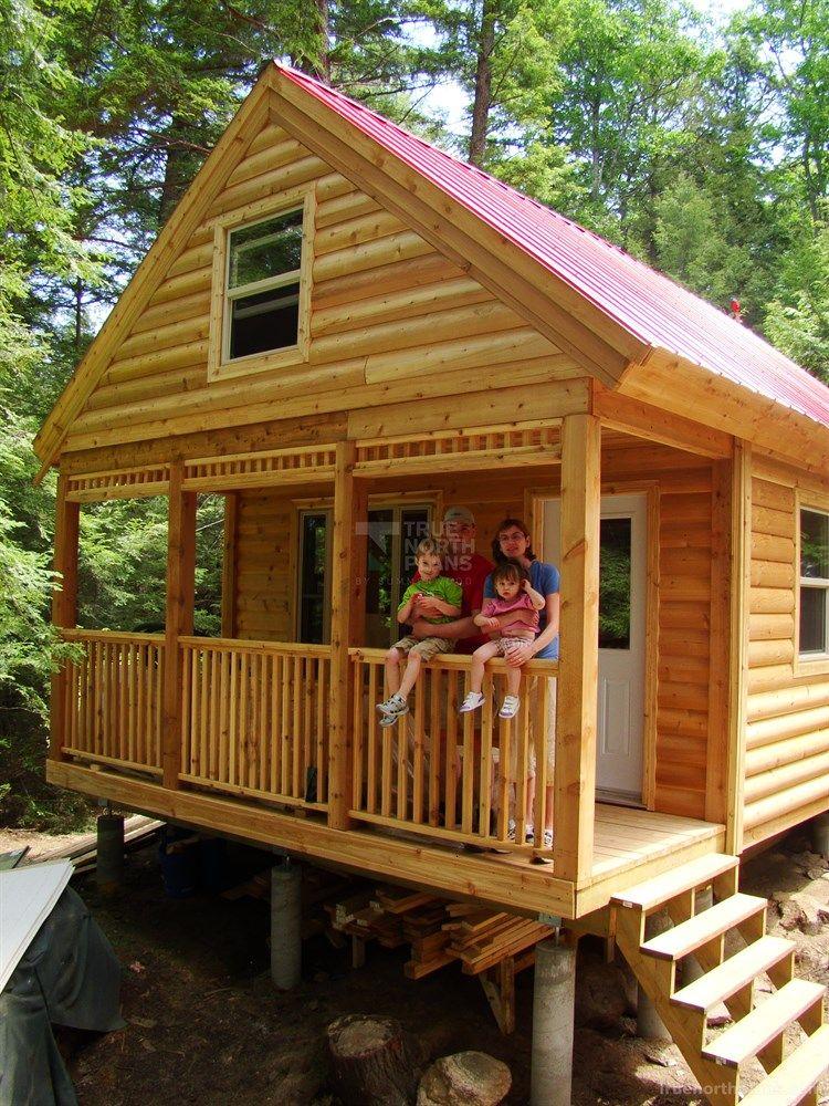 Cheyenne cabin plan | Shed in 2019 | Shed cabin, Diy log