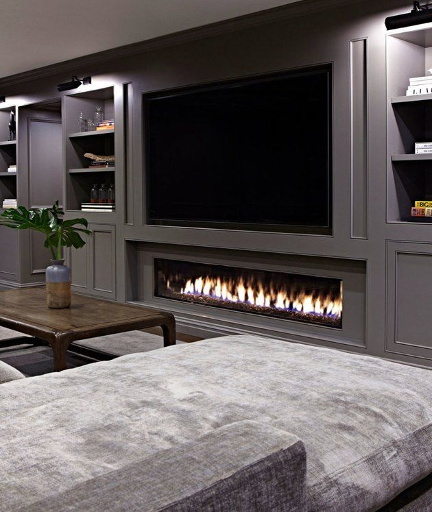 Photo of 8 Basement Fireplace Ideas to Warm up To | Hunker