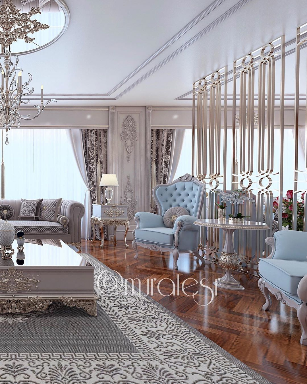 Murat Gulercoban On Instagram Customer Project Home Design Living Room Living Room Design Decor Luxury Living Room