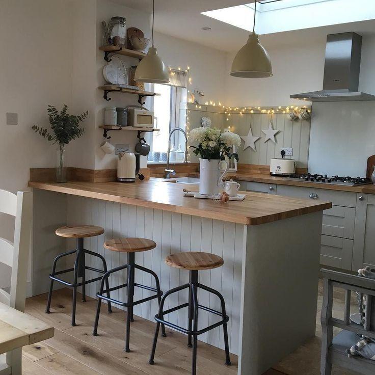 44 admirables petites idées de décoration de cuisine d ...