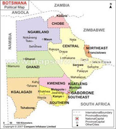 Botswana Maps Maps Pinterest Africa and Free maps