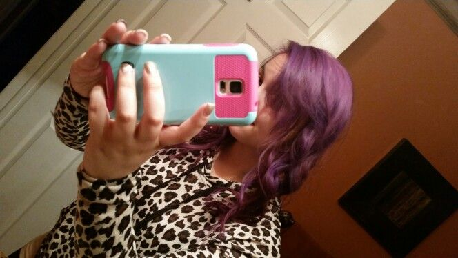 Ahhh purple hair!!