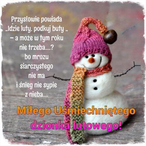 Kartka Milego Dzionka Lutowego E Kartki Net Pl Christmas Ornaments Holiday Decor Novelty Christmas